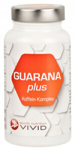 Guarana plus Koffein-Komplex, 60 Kapseln - der Energie-Kick für Körper und Geist