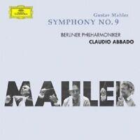 """CLAUDIO ABBADO """"MAHLER: SINFONIE 9"""" CD NEUWARE"""