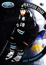 2012-13 Certified Stars #19 Joe Thornton