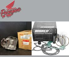 NEW 02 2002 HONDA CR250R CR 250 OEM CYLINDER W WISECO PRO HIGH PER PISTON KIT