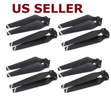 8Pcs 4 Pair Carbon Fiber Composite Folding Propeller Props Blades 8330 for DJI M