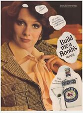 Original 1977 Booth's High & Dry Gin Vintage Print Ad