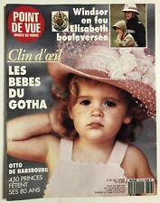 ►POINT DE VUE IMAGES DU MONDE 2313/1992 - LES BEBES DU GOTHA - WINDSOR