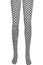 Black White Dot Tights Stockings Dots Adult Costume Accessory by Jacobson Hat