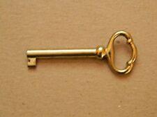 Skeleton Bit Barrel Key National Cabinet - Antique Furniture Locks & Doors D8890