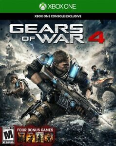 Gears Of War 4 Xbox One Great Condition Complete Fast Shipping