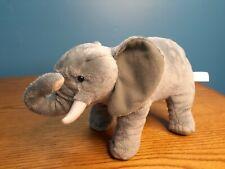 "BBC Planet Earth Elephant 13"" Plush Soft Stuffed Animal Toy Retired 2008"