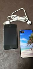 Apple iPhone 4s - 8GB - Black (Sprint) A1387 (CDMA + GSM)