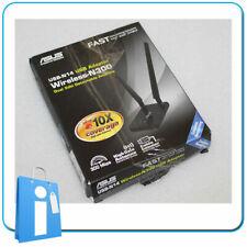 Adaptador Tarjeta Red Wifi Wireless USB ASUS USB-N14 N300 Externa