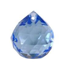 30mm LIght Blue Ball Chandelier Crystal for Weddings, Suncatcher