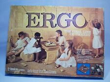 Vintage 1977 Invicta Games Ergo The Final Line Of Thought Board Game