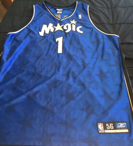 Tracy McGrady #1 Orlando Magic Authentic Reebok NBA Basketball Jersey- SZ 56 2XL