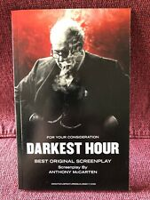 'Darkest Hour' 2017 Movie Screenplay
