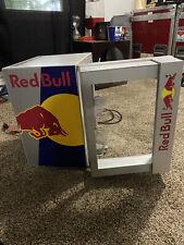New Listingred bull mini fridge