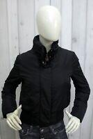 PEUTEREY Donna Taglia M Giubbotto Nero Piumino Parka Jacket Coat Woman Bomber