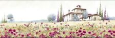 Tuscan Poppies by McNeil 90x30cm canvas