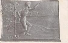 C3309) CENTENARIO DELL'UNIVERSITA' DI PALERMO 1806/1906. ILLUSTRATORE A. UGO. VG