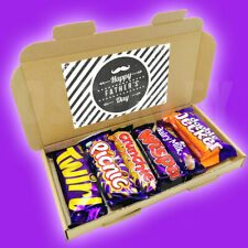 CADBURY HAPPY FATHER'S DAY - Treat Box - Twirl, Picnic, Crunchie, Wispa, Dairy