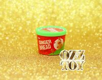 one Coles little shop 1 & 2 Christmas Mini Collectables - Gingerbread Ice Cream