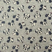 Disney Mickey & Minnie Mouse Fabric-FQ-Fat Quarter-100%...