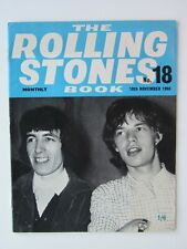 THE ROLLING STONES MONTHLY BOOK No 18   1965 ORIGINAL  ISSUE FANTASTIC CONDITION