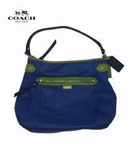 Coach Crossbody Bag Daisy Spectator Leather Moonlight Blue/Green: #23903