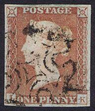 1841 1d Rojo PL 18 LK 4m Fine Used basal Shift Cat. 150.00 EUR