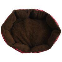 4X(Haustier Hund Katze Bett Weiches Nest Welpen Kissen Warme Zwinger Matte W5D4)