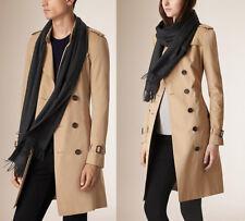 Sciarpa scarf Burberry 100% cashmere unisex Made in Scotland New nuova