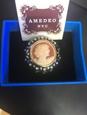 Amedeo NYC Cameo Ring