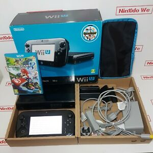 Nintendo Wii U Premium Pack 32GB Black Handheld System + Mario Kart 8