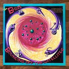 the B-52's Bouncing Off The Satellites RARE out of print promo vinyl LP record