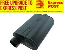 "Flowmaster Super 40 Series Delta Flow Muffler 2.5"" Offset Inlet / Center Outlet"