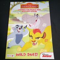 New Disney Junior The Lion Guard Jumbo Coloring And Activity Book The Wild Ones