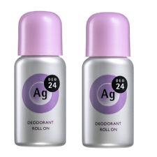 2 pcs Shiseido Ag Deo 24 Roll On EX Deodorant 40mL / 1.35 fl.oz Fresh Savon Soap
