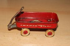 "Vintage 1964 New York Worlds Fair Radio Flyer Wagon Miniature 2x4"""