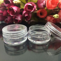 Empty Makeup Jar Pot Travel Face Cream/Lotion/Cosmetic Container Plastic