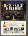 MadCatz Steering Wheels Best Buy Coupon 1999 Vintage Print Ad Original Art