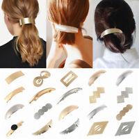 Pince à cheveux Pince à cheveux Girl hair Pince à cheveux métallique Coiffure