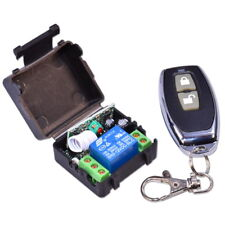 Remote Control + Relay 10A 12V 433MHz Switch for Actuators & Electric Motors