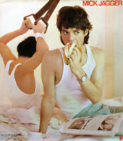 The Rolling Stones Mick Jagger 1985 She's The Boss Original Promo Poster