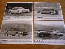 "SUBARU IMPREZA TURBO 2000 ORIGINAL PRESS PHOTOS X 4 "" Brochure "" jm"