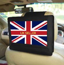 More details for rear car headrest mount 10 inch swivel flip tilt portable dvd player holder case