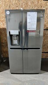LG GSL961PZJV American-Style Fridge Freezer - Shiny Steel - Ice & Water - #5516