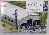 Busch 1410 Bausatz LPG Stallung H0 DDR Scale 1 87 NEU OVP