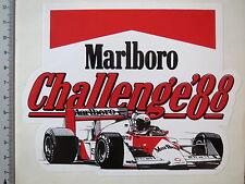 Pegatina Sticker marlboro Challenge 88 cosworth michael andretti decal (m1439)