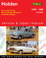 Holden FX/FJ/FE/FC/FB/EK/EJ/EH/HD/HR Special, Premier 1948-1968 Repair Manual