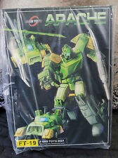 Fans Toys FT-19 Apache Masterpiece Springer IN HAND - US seller! NEW!