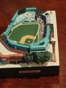Fenway park stadium replica display 3 inch mlb baseball field boston red sox