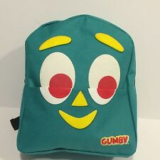 Gumby Face Mini Back Pack - 10 inch x 9 inch x 3 inch deep
